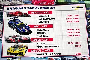 Guide des 24H du Mans 2021 : le programme et les engagés