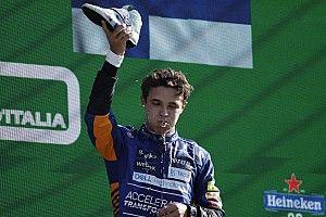 Furcsa üzenet tűnt fel Ricciardo Twitter-oldalán, Norris áll mögötte