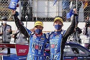 【スーパーGT】61号車井口&山内、ついに掴んだ新型BRZでの初勝利に安堵「ようやくスタートラインに立てた」