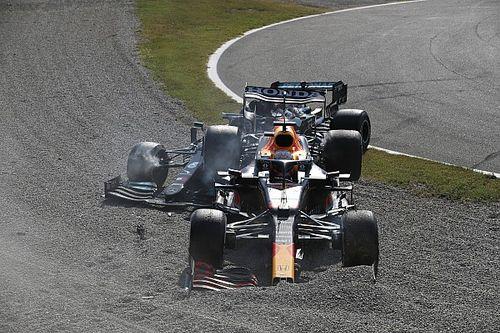Şampiyonluk mücadelesi veren Verstappen ve Hamilton kaza yaptılar!