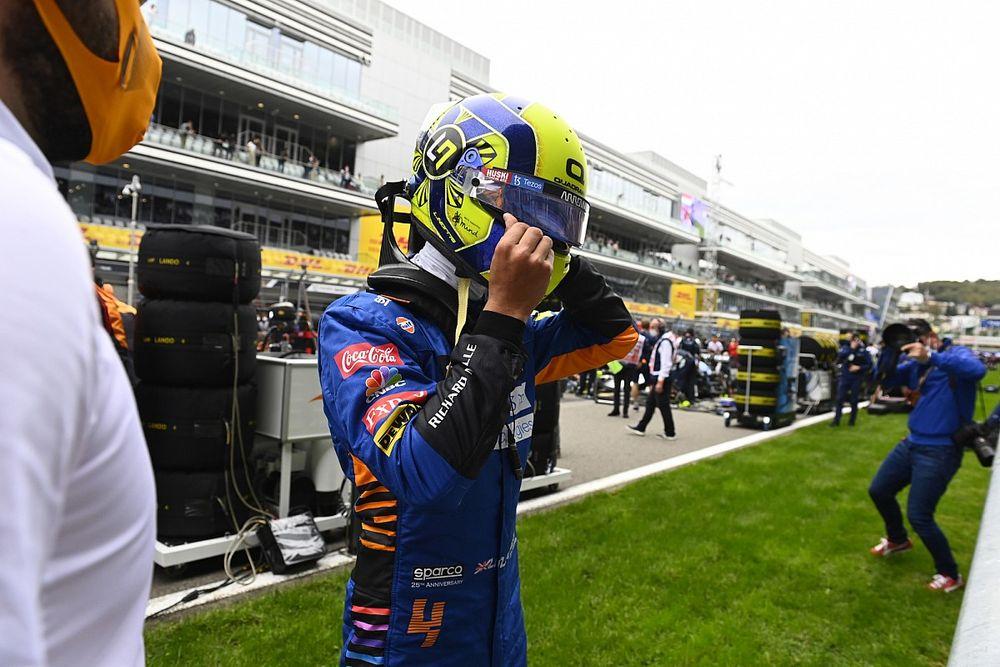Leclerc: Kwestie van tijd voordat Norris eerste F1-zege pakt