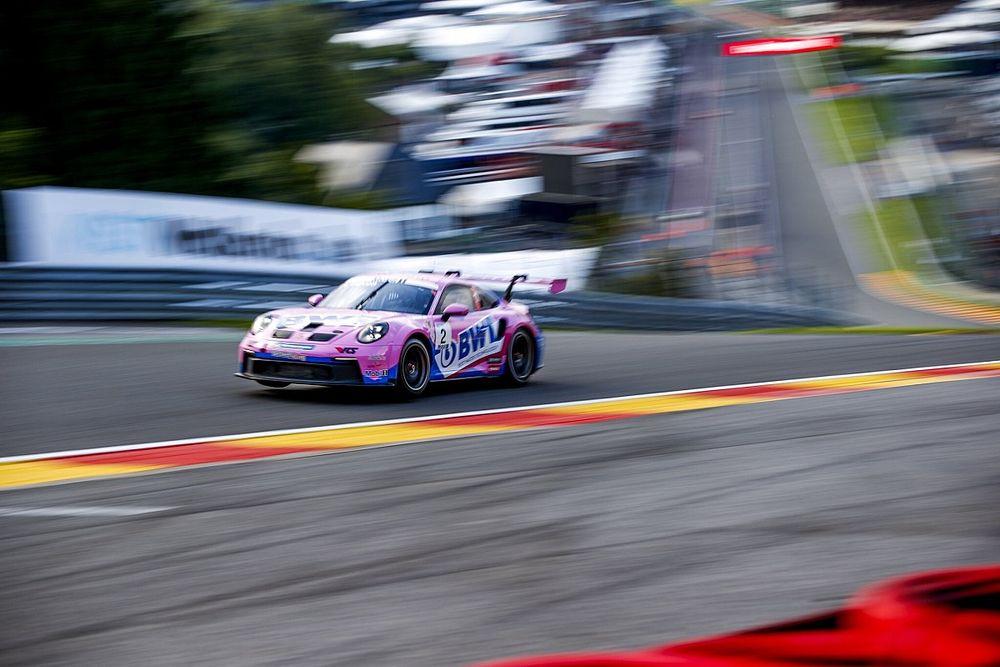Porsche Supercup Spa: Ayhancan antrenmanları 3. sırada tamamladı