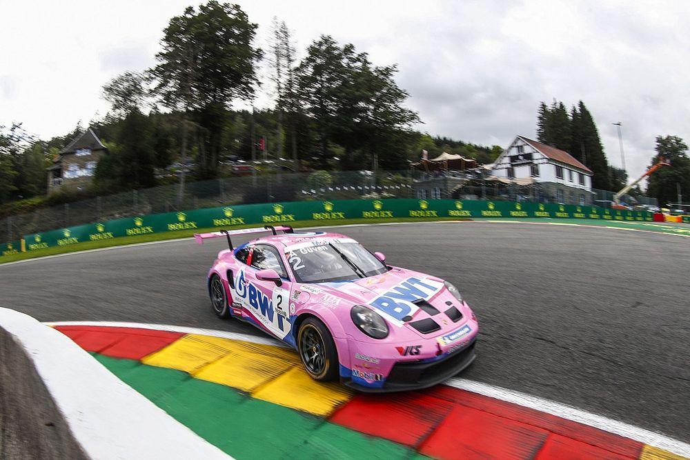 Porsche Supercup Spa: Yağmurlu seansta Ten Voorde pole'de, Ayhancan yedinci oldu