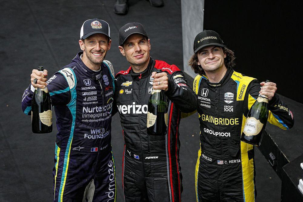 Power boekt eerste zege van seizoen in GP of Indy, VeeKay in achterhoede