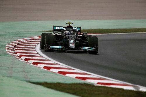 """Bottas n'a pas vu Mercedes réaliser de """"gros progrès"""" en 2021"""