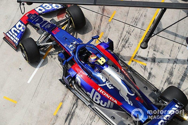 Toro Rosso et Albon changent d'approche en essais libres