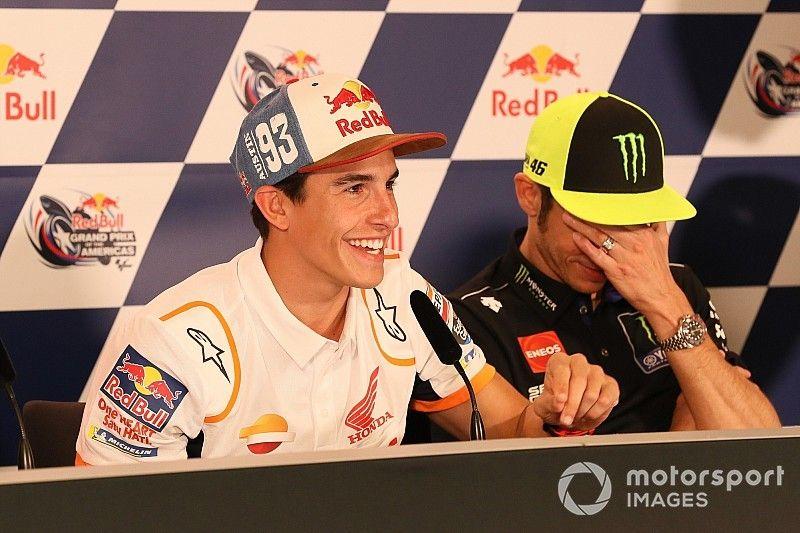 """Valentino: """"Marquez è il migliore... Ma guida anche la moto migliore!"""""""