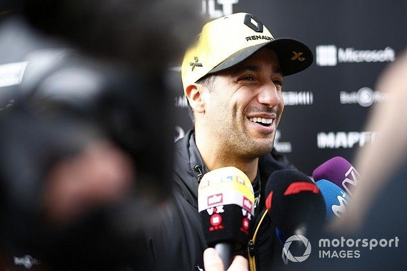 Ricciardo estará representado por la agencia de Cristiano Ronaldo