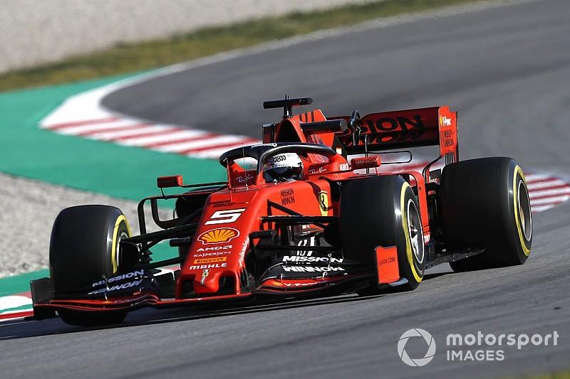 F1バルセロナ公式テスト:初日総合タイム結果