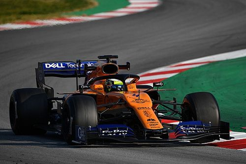 Tes F1 Barcelona II: Norris teratas, Mercedes bermasalah
