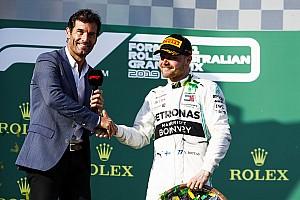 """Webber: """"Bottas'ta açlık ve savaşma ruhu eksik"""""""