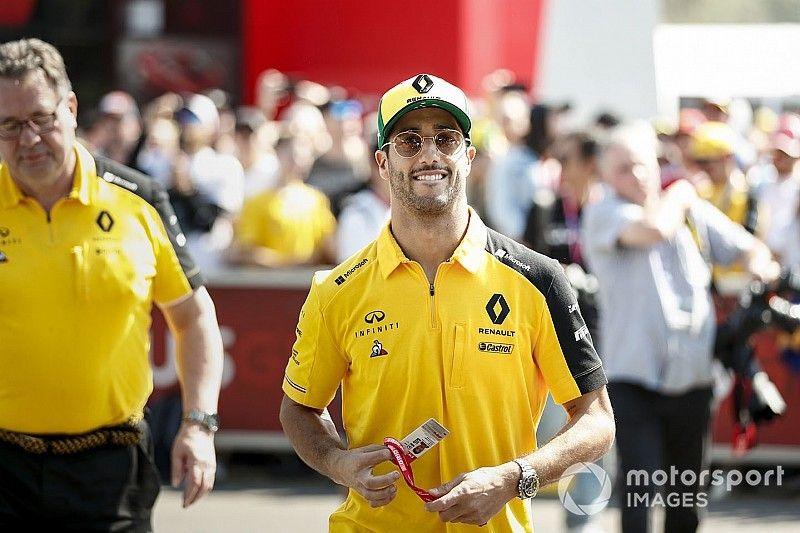 """Un Ricciardo """"agotado"""" quiere menos compromisos en el GP de Australia 2020"""