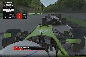 VIDEO: Verstappen en Juncadella toucheren in laatste ronde