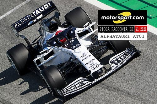 Video, Piola racconta le Formula 1 2020: AlphaTauri AT01
