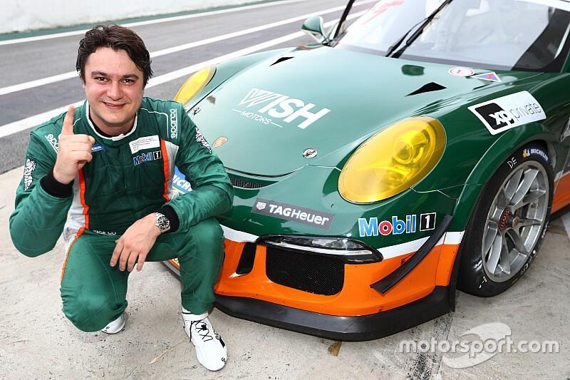 Porsche GT3: Lucas Salles comemora primeira pole na categoria, mas já está com a cabeça na corrida