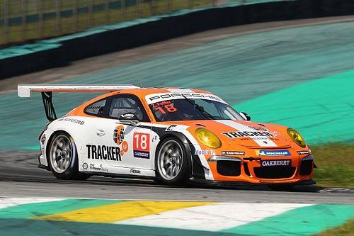 Porsche GT3 Cup: Mesmo após perder na última volta, Zeca Feffer celebra segundo lugar em Interlagos