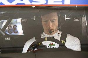 Evans Absen dalam Tes Perdana Toyota