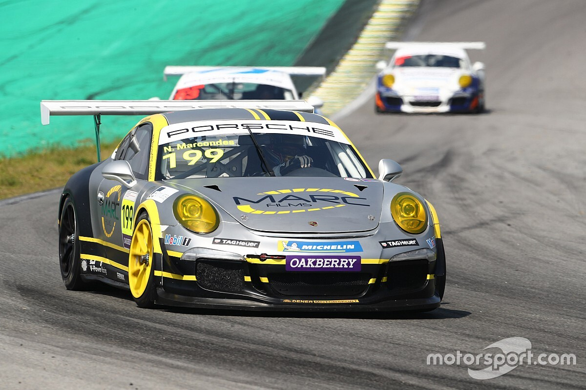 Porsche GT3 Cup: Marcondes ultrapassa na última volta e ganha Corrida 2 em Interlagos