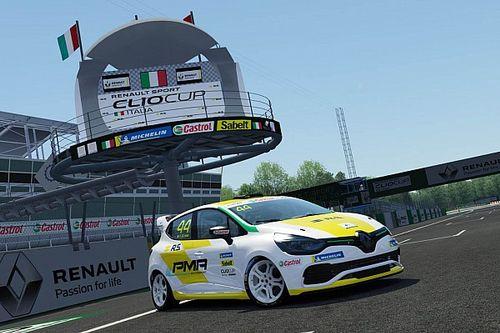 Clio Cup Italia: domenica parte la stagione eSport