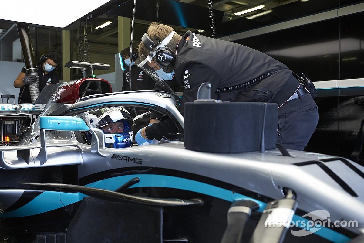 """Protocole sanitaire : Mercedes a """"beaucoup appris"""" en une journée"""
