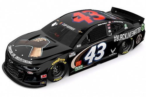 "Wallace and famed No. 43 to sport ""Black Lives Matter"" livery"