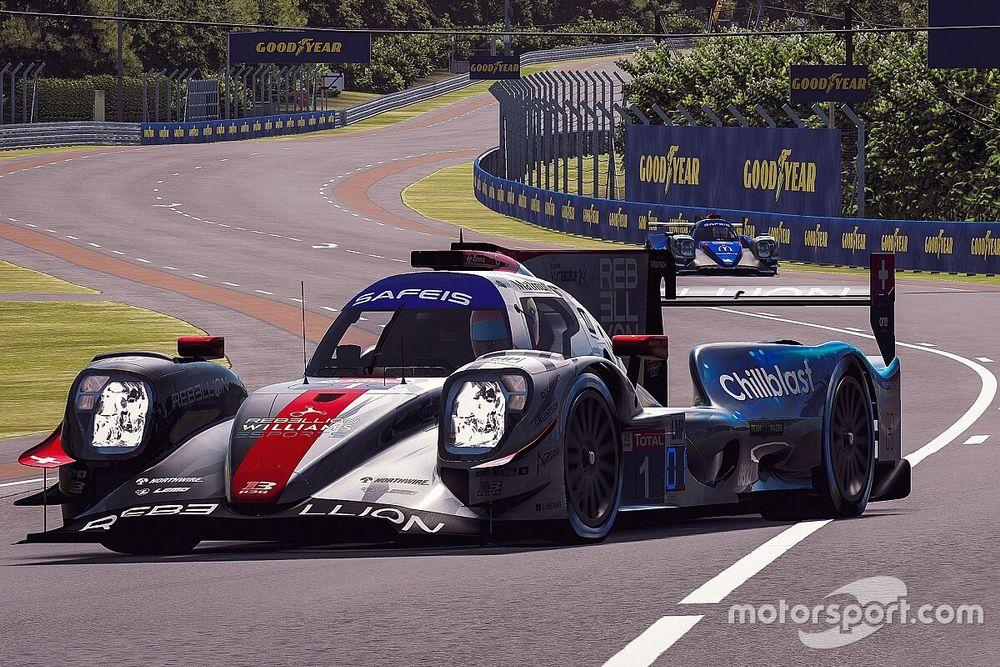 Virtual 24 Ore di Le Mans: trionfo per la Rebellion-Williams