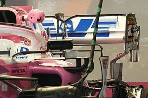 Racing Point con un'ala posteriore degna di Monte Carlo!