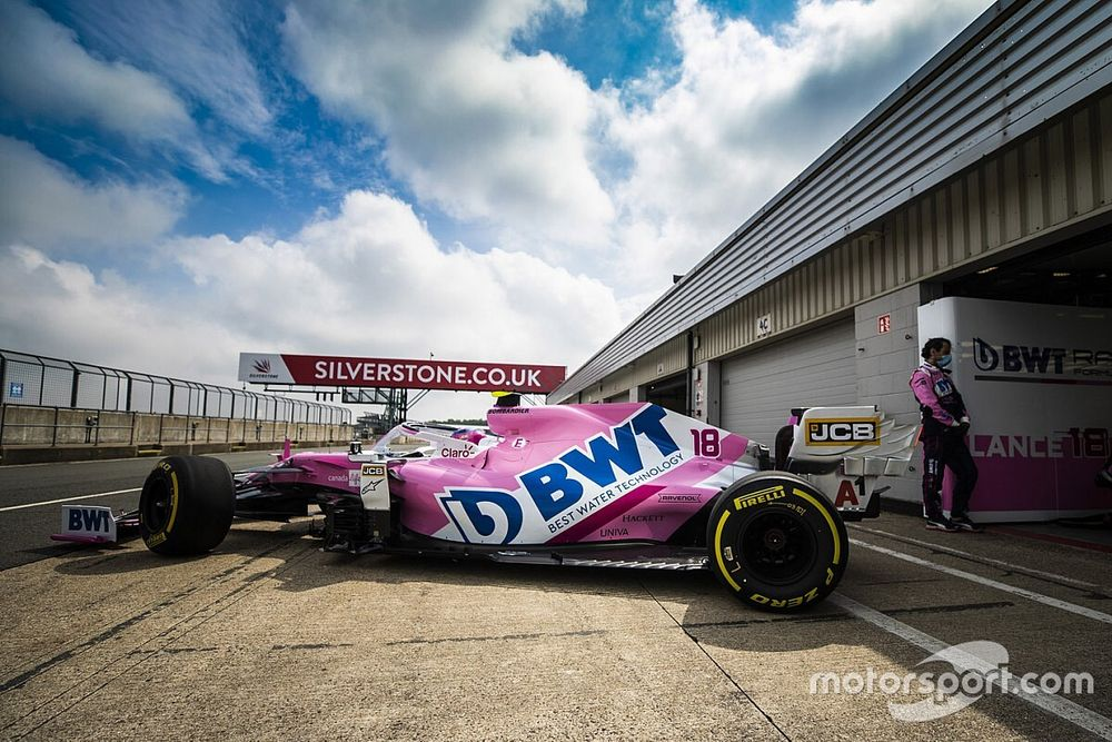 VIDEO: Racing Point rueda con su F1 2020 en Silverstone