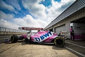 Racing Point conducts first 2020 F1 car run since winter testing