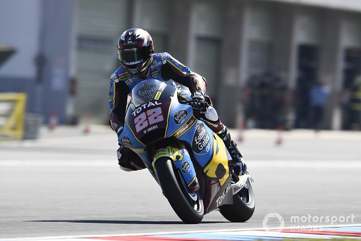 Moto2 Brünn FT1: Klare Bestzeit für Lowes, Schrötter trotz Handicap Fünfter