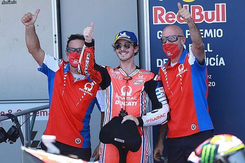 """Bagnaia: """"Voglio essere il più veloce sulla Ducati"""""""