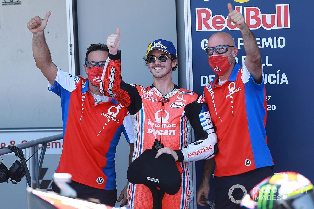 "Bagnaia: ""Pretendo ser la mejor Ducati"""
