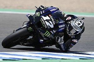 Endülüs MotoGP 3. antrenman: Vinales lider, Marquez 19. sırada