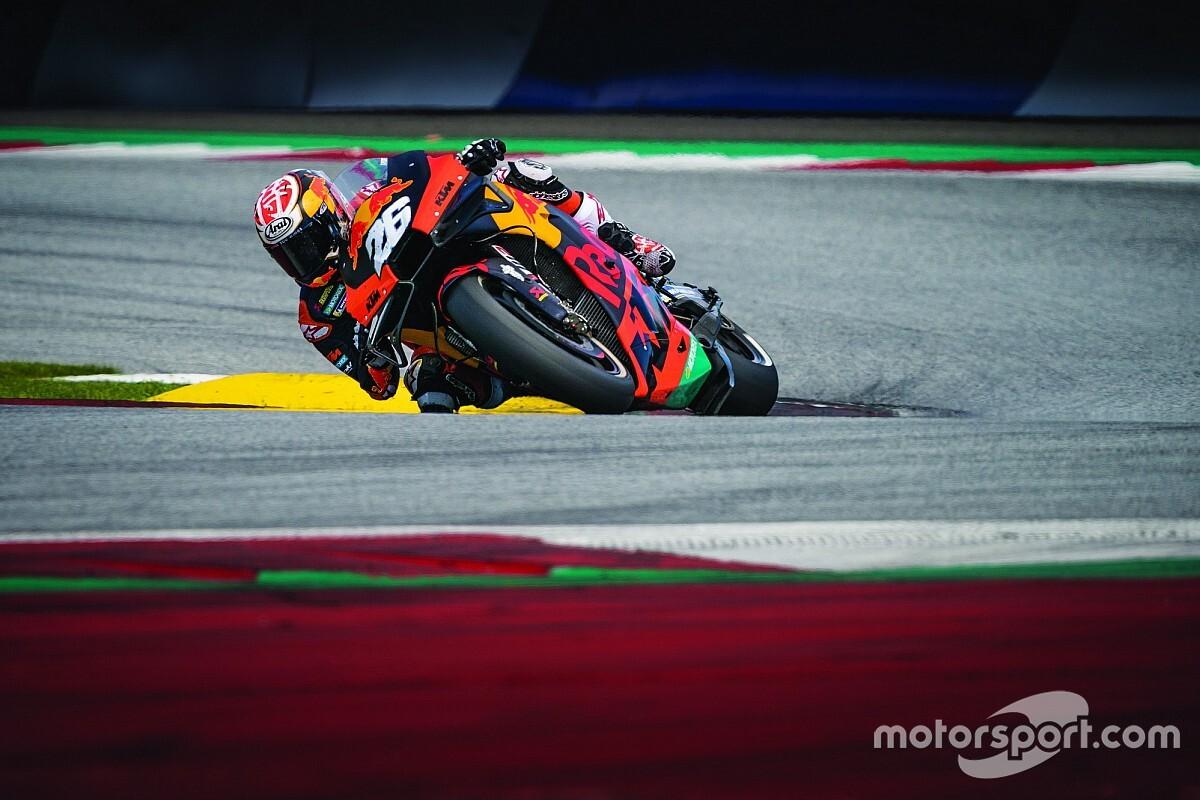 KTM llega a Misano con más información que sus rivales