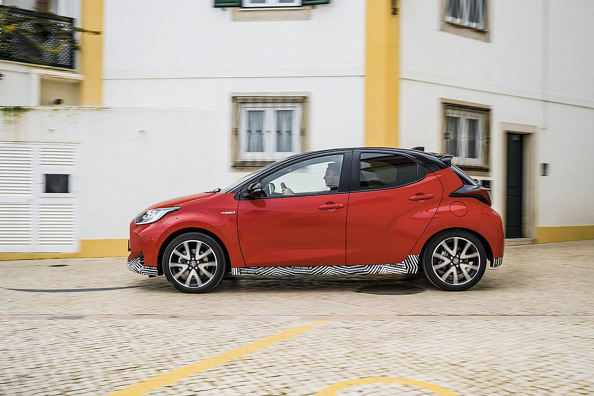 Toyota Yaris straci najmniej