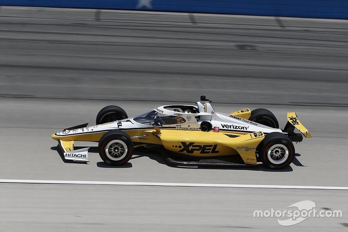 Newgarden toma la pole en Texas en debut de O'Ward con McLaren