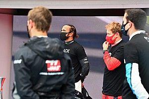 Hamilton kraakt F1 en Grosjean na gehaast knielmoment voor race