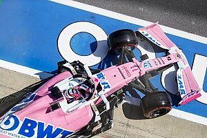 Pérez pokolian gyors volt a Racing Point-Mercedesszel, még a McLarennek is