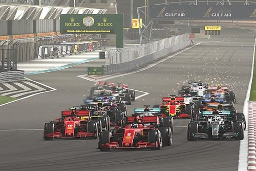 Último Virtual Grand Prix de la F1 2021: pilotos y equipos