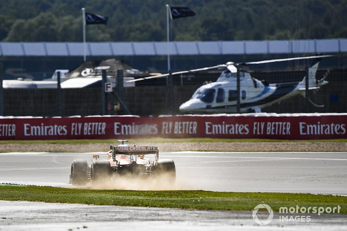 Sainz szerint jóval gyorsabbak a mai F1-es autók, mint a tv-ben látszik