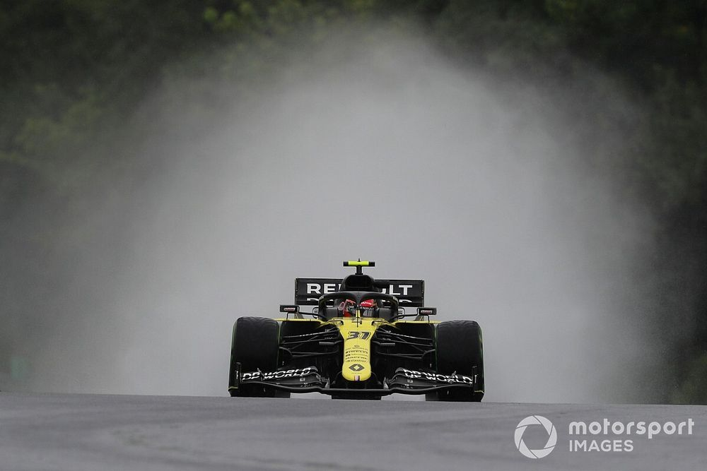 Photos - Les F1 en piste et sous la pluie au Hungaroring