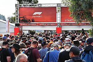 Organisatie Australische GP houdt poorten voor fans gesloten