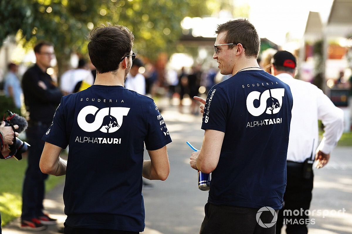 Az AlphaTauri 60-65 emberre korlátozhatja az emberei számát az F1-es hétvégéken