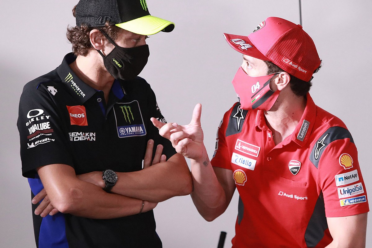 Rossi keen on having Dovizioso as Yamaha MotoGP test rider