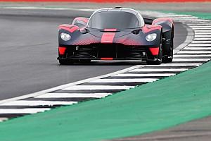 Vidéo - L'Aston Martin Valkyrie en action à Silverstone