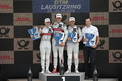 Muller gana y Rast abandona en Lausitzring
