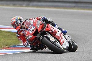 Dovizioso lidera el warm up en Brno