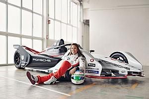 Simona De Silvestro verstärkt das Formel-E-Projekt von Porsche
