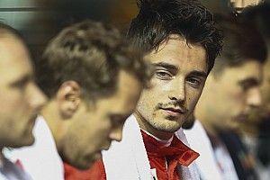"""Leclerc agradecido con Vettel pese a """"momentos tensos"""""""
