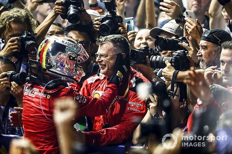 Vettelnek szüksége volt a győzelemre – Briatore a stratégiáról
